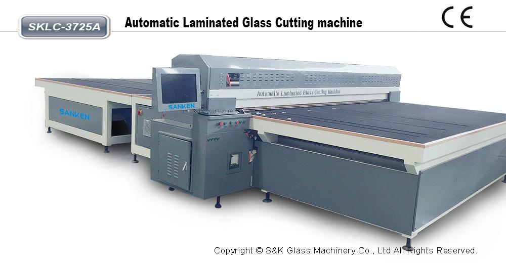 自动夹胶玻璃切割机