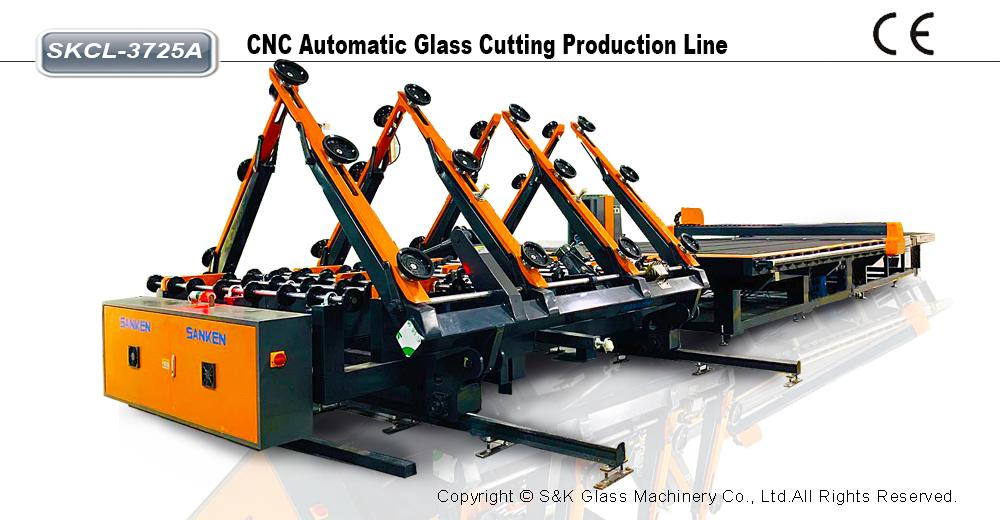 CNC玻璃切割生产线